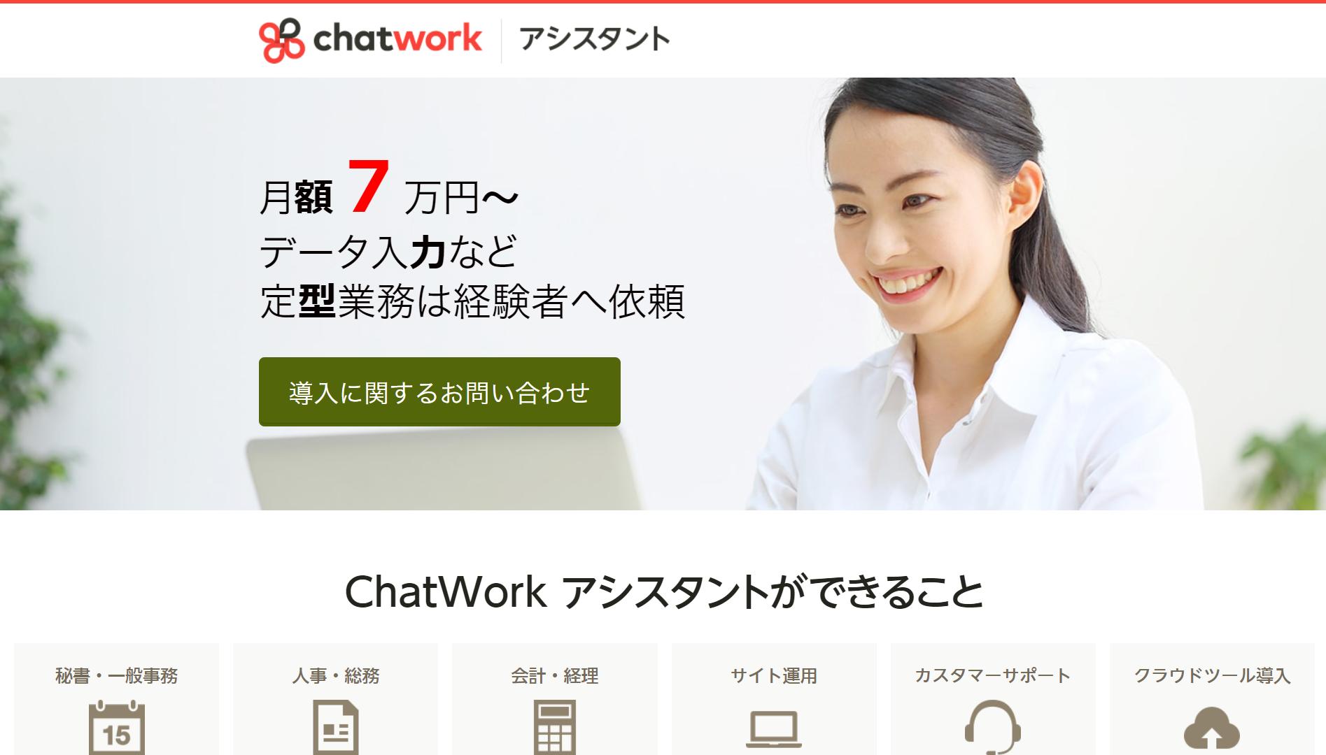ChatWorkアシスタント トップ